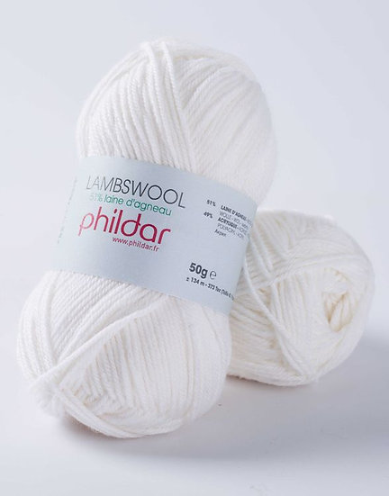 Lambswool - Blanc