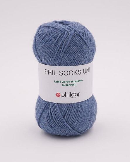 Phil Socks Uni - Jeans