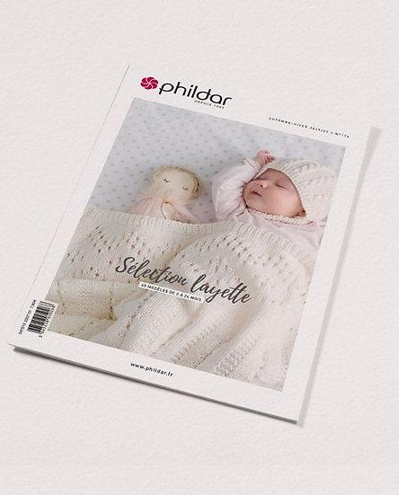Revue Phildar n°174 : Sélection layette, 43 modèles 0 à 24 mois