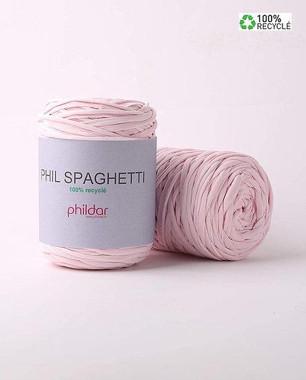 Phil Spaghetti - 100% fibres recyclées - Rose