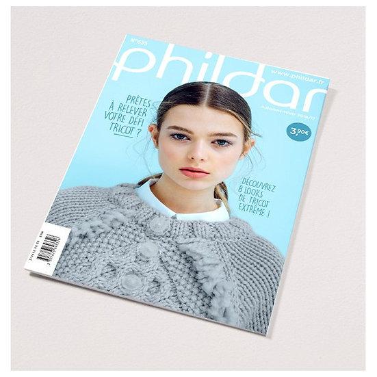 Catalogue Phildar n°655 : Prêtes à relever votre défi tricot?