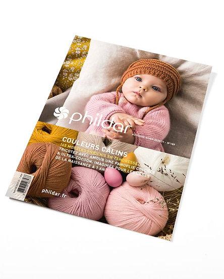 Revue Phildar n°189 - 'Couleurs câlins' (0-18 mois)
