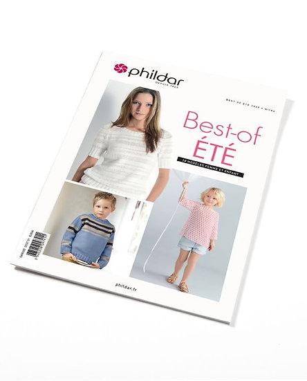 Revue Phildar n°186 - Best-of ÉTÉ (pour femmes et enfants)