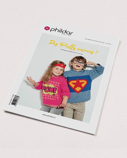 Catalogue Phildar n°696 : Pulls enfant (2-10 ans)