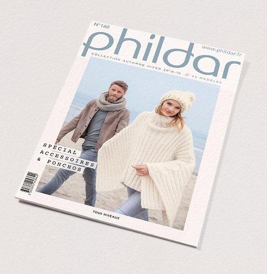 Revue Phildar n°160 : Spécial accessoires & ponchos