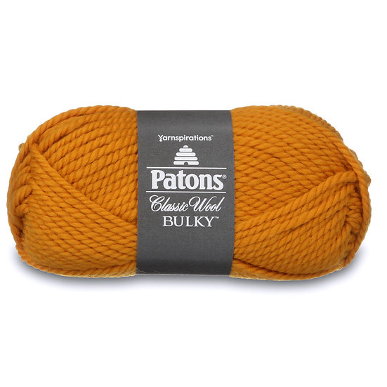 PATONS Classic Wool Bulky - Gold - 100% Laine vierge - 8 mm