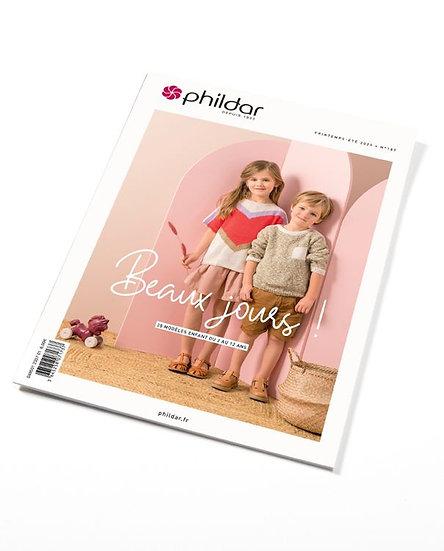 Revue Phildar n°187 - Beaux jours! (pour 2-12ans)