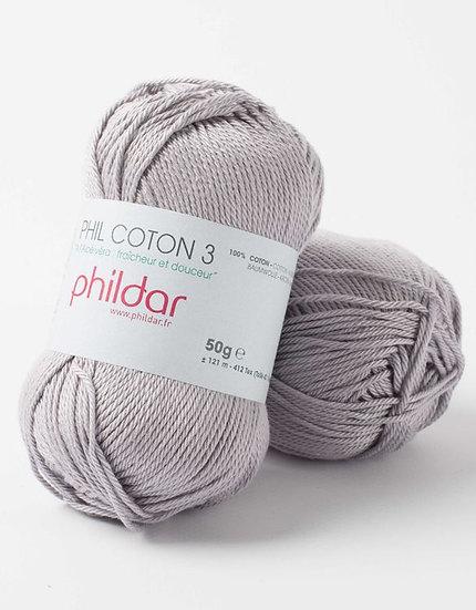 Phil Coton 3 - Silver