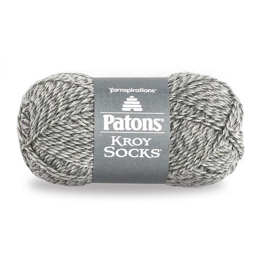PATONS Kroy Socks - Gray Marl