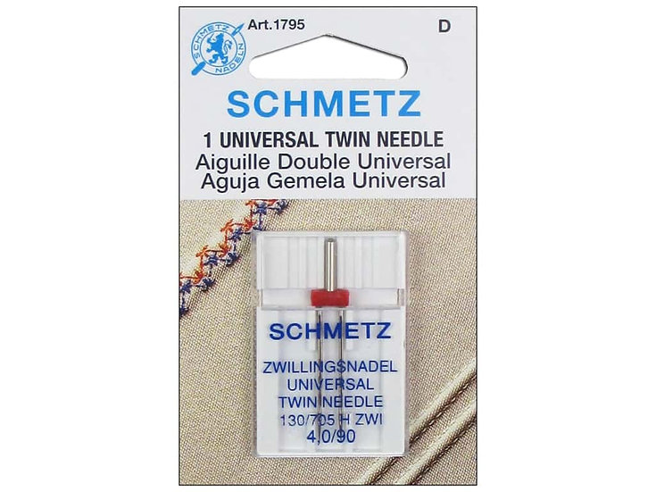 Aiguille double universelle - 90/14, 4 mm