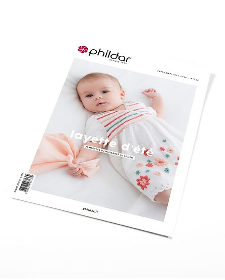 Catalogue Phildar n°700 : Layette d'été 0-18M