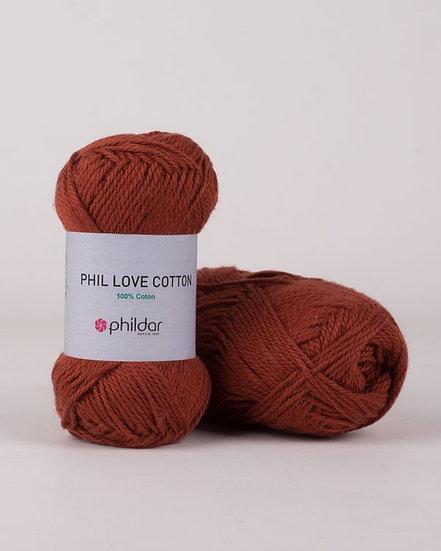 Phil Love Cotton - Havane