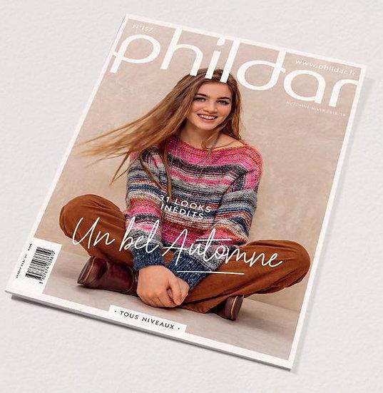Revue Phildar n°157 : Un bel automne! 31 looks inédits