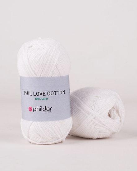 Phil Love Cotton - Blanc