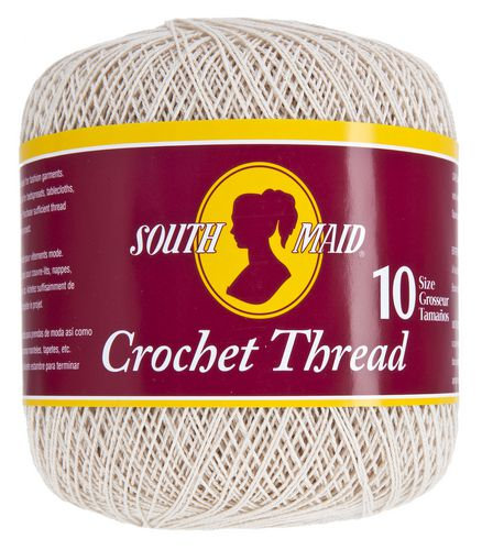Fil à crocheter Grosseur 10 - South Maid