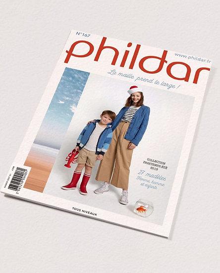 Revue Phildar n°167 : La maille prend le large!