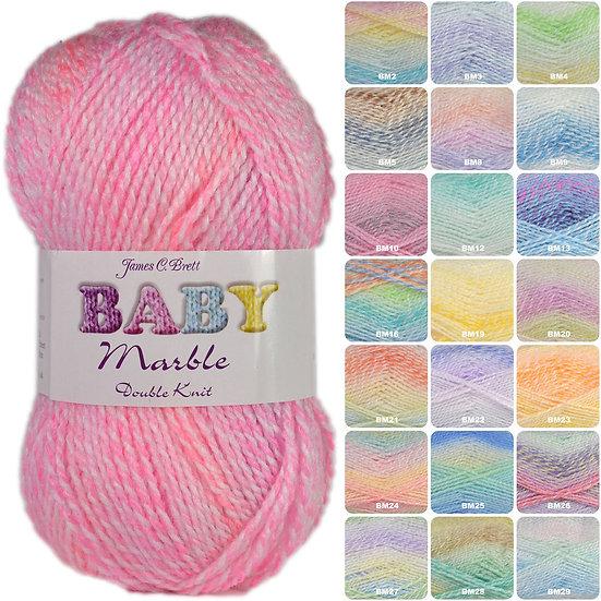 Marble Baby DK - Anciens coloris - James C. Brett - 4mm