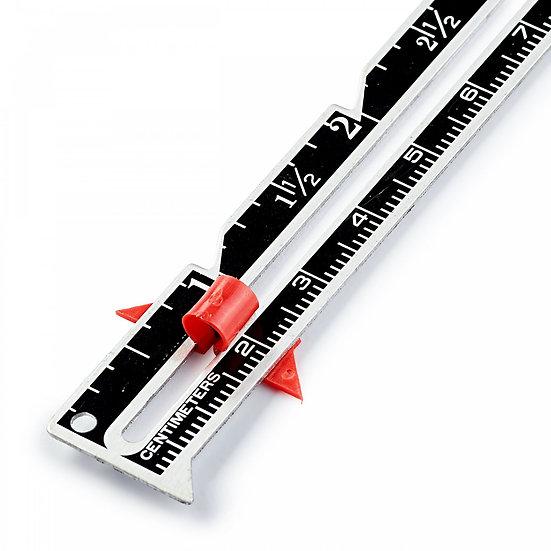 Règle de couture - 15 cm