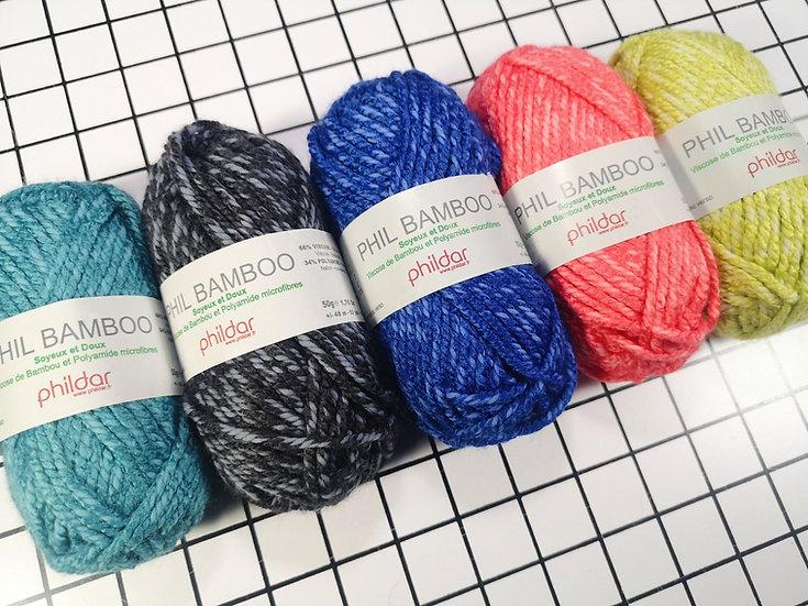 Phil Bamboo - Choix de coloris
