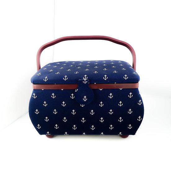 Boîte de rangement pour accessoires de couture - PRYM - Modèle Marin Grand