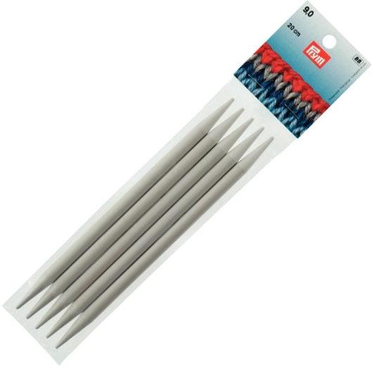 Aiguilles à tricoter double pointes - PRYM - 9mm