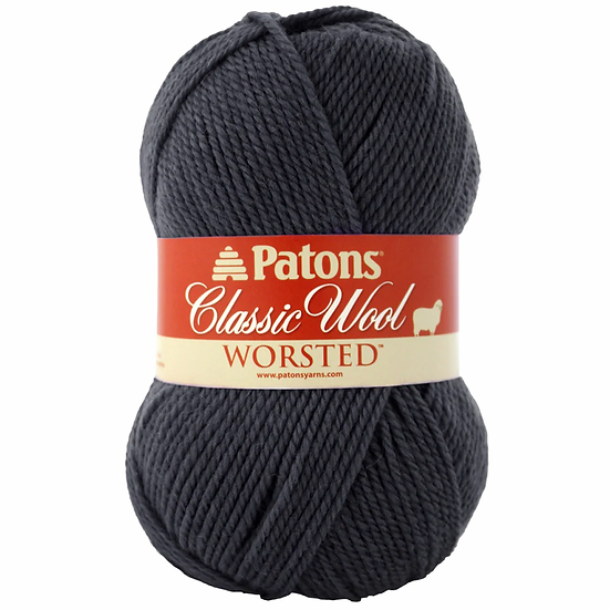 PATONS Classic Wool Worsted - Mercure - 100% Laine vierge - 4mm