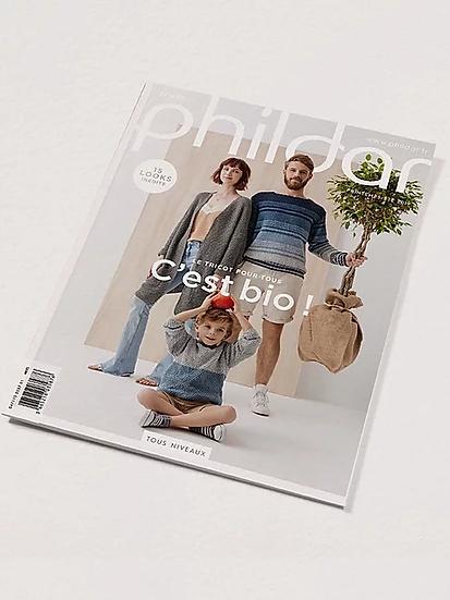 Catalogue Phildar n°695 : Le tricot pour tous, c'est bio!