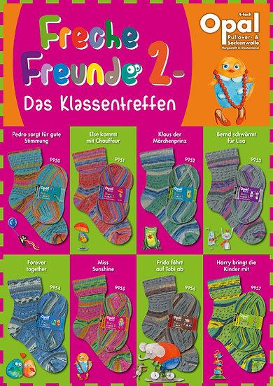 Laine à bas Opal - Freche Freunde 2 - 100g