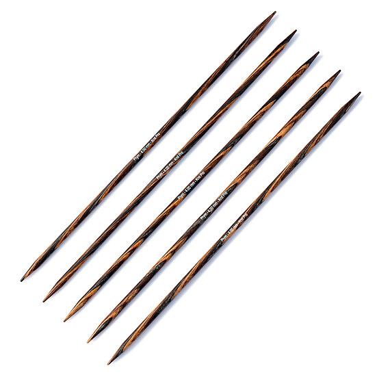 Aiguilles à tricoter à 2 pointes en bois - 20 cm - PRYM Natural
