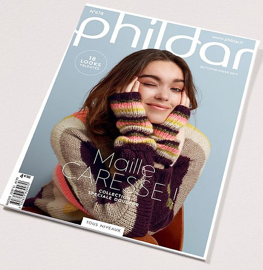 Catalogue Phildar n°678 : Maille caresse!