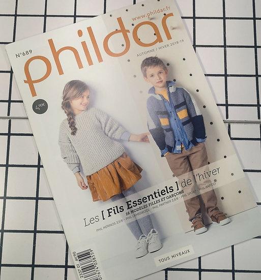 Mini-revue Phildar n°689