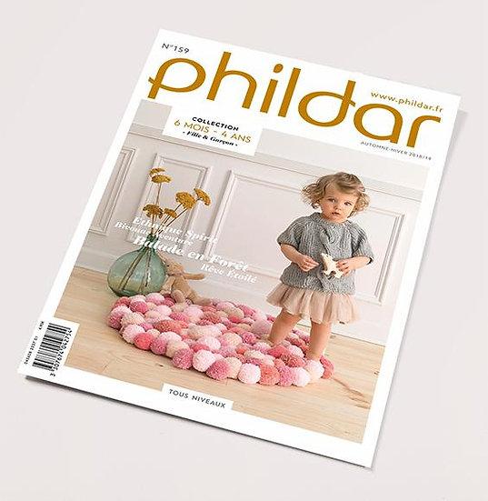 Revue Phildar n°159 : Modèles enfants! 6 mois - 4 ans