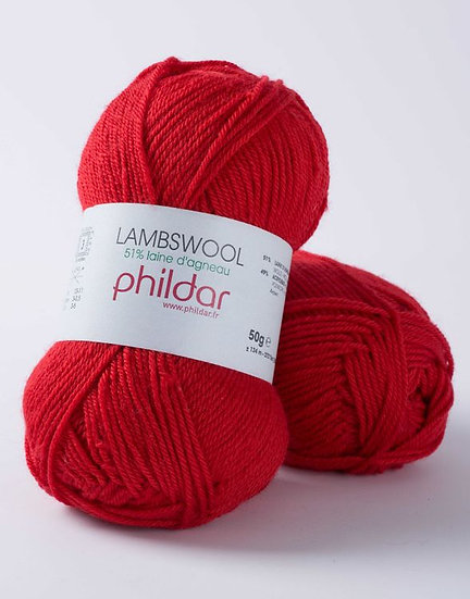 Lambswool - Rouge