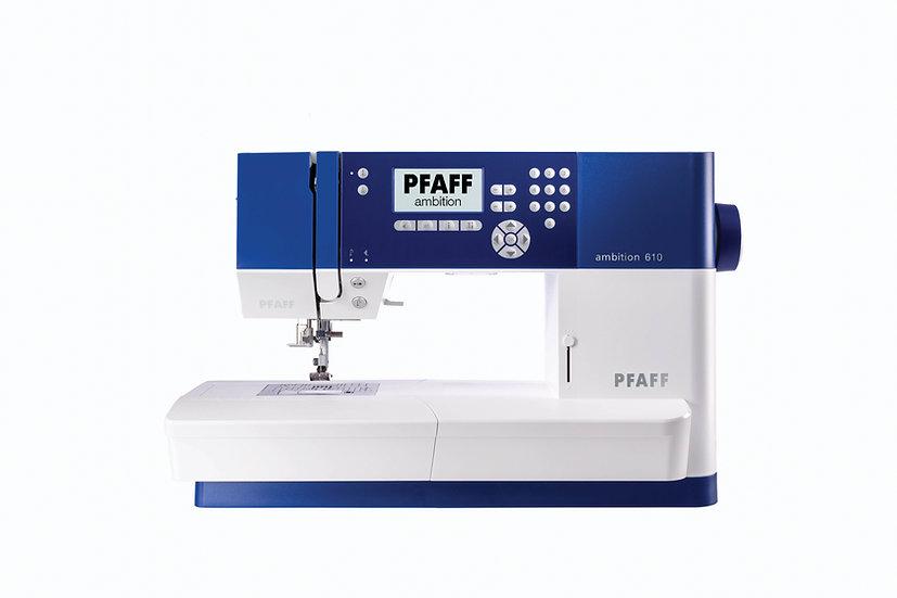 Machine à coudre Ambition 610 - PFAFF