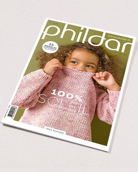 Revue Phildar n°169 : 100% soleil, 25 modèles pour filles et garçons