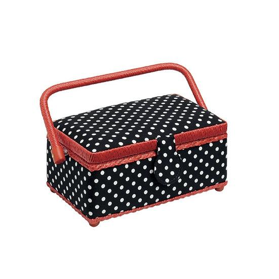 Boîte de rangement pour accessoires de couture - PRYM - Modèle Polka