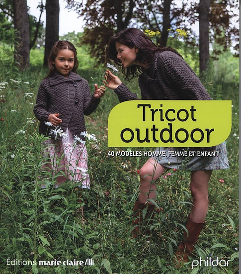 Tricot Outdoor - Livre Phildar