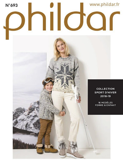Catalogue Phildar n°693 : Collection sport d'hiver!