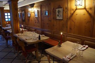 Restaurant Theodors Stuba in the Hotel Walliserhof