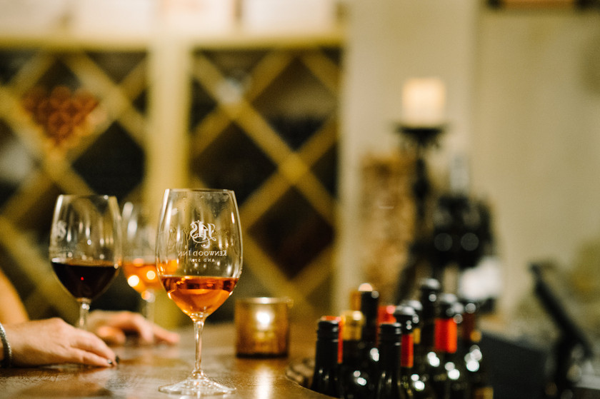enjoy magic hour at the kenwood inn and spa in their private cellar