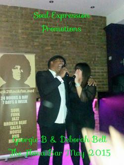 Georgie B and Deborah Bell