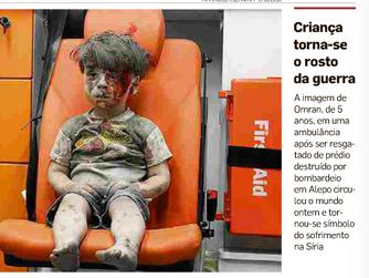 Assustadores emblemas do drama sírio
