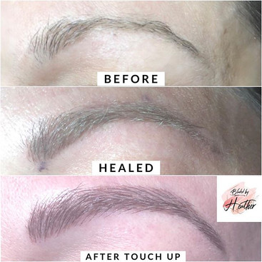 Love this full brow transformation 🙌🏼