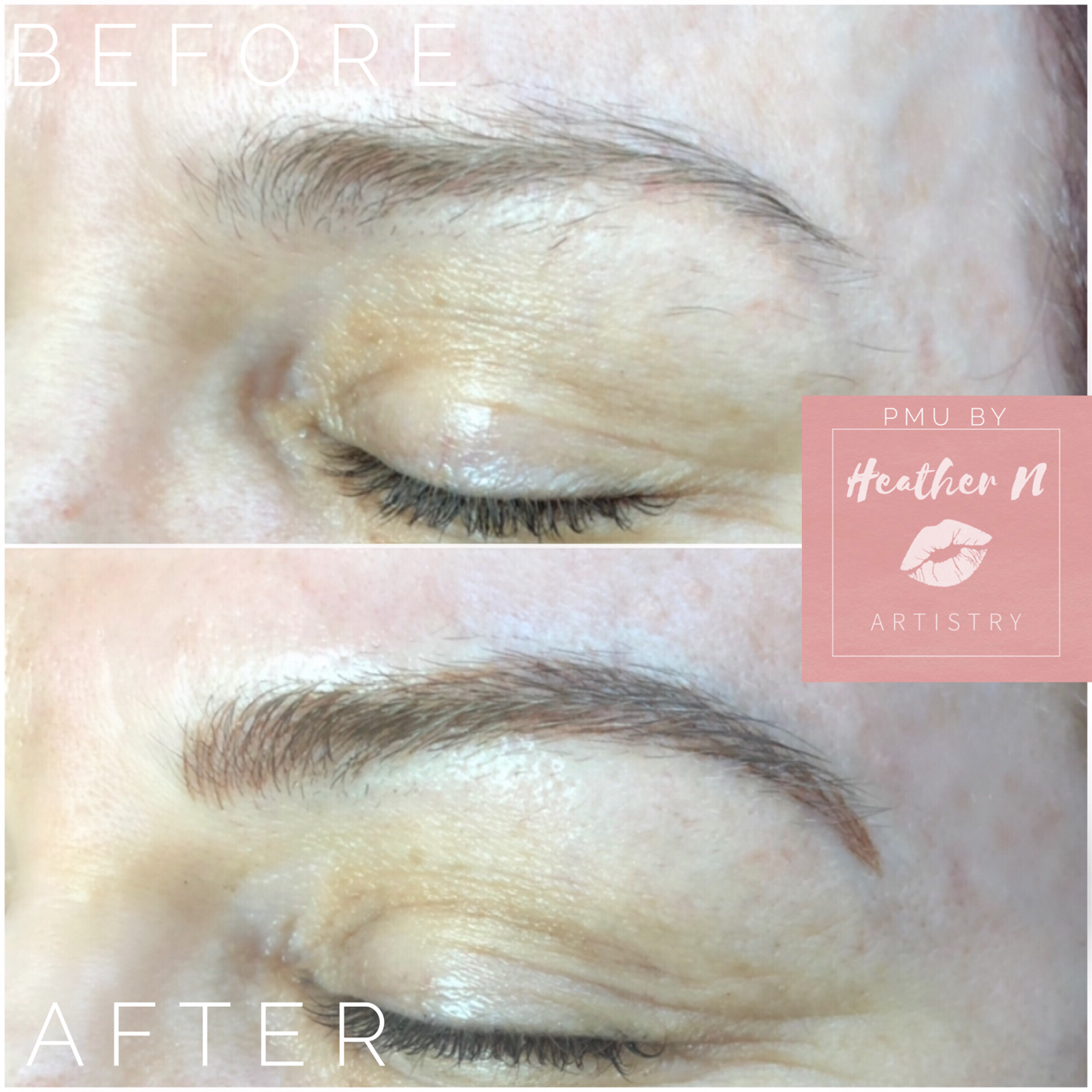 Annual Brow Touchup - Color Boost