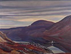 Рокуэлл Кент. Вечный покой. Северная Гренландия. 1932
