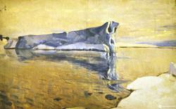 Айсберг в бухте Тихой