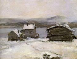 Зима в Лапландии 1894