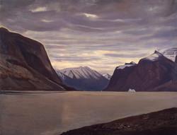 Рокуэлл Кент. Пасмурный день. Фьорд в Северной Гренландии. 1933