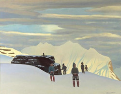 Рокуэлл Кент. Возвращение охотников. Северная Гренландия. 1933