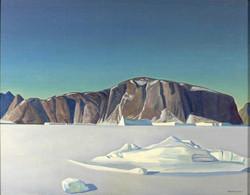Замерзший фиорд. Северная Гренландия. 1932